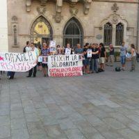 [Espanha] Granollers: Crônica da concentração em apoio ao povo de Oaxaca