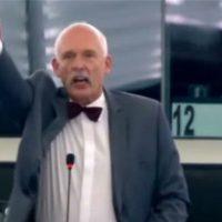 [Europa] Eurodeputado polonês de extrema-direita punido por declaração racista
