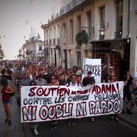 [França] Contra as violências do Estado, 300 pessoas em Nantes