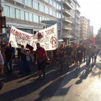 [Grécia] Informação sobre a manifestação em solidariedade com as três okupas reprimidas em Tessalônica