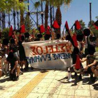 [Grécia] Intervenção antifascistas em Votanikos