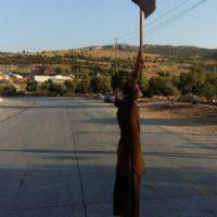 [Grécia] Vídeo: Refugiados revelam as condições de vida no Campo de Refugiados de Shisto durante protesto anarquista