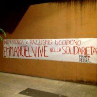[Itália] Indiferença e racismo matam, Emmanuel vive em solidariedade