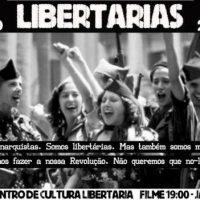 """[Portugal] Cacilhas: Filme """"Libertarias"""" + Jantar"""