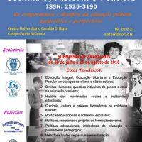 """[Volta Redonda-RJ] """"II Simpósio de Educação: Cotidiano, História e Políticas"""""""