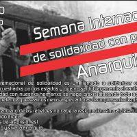 Chamada para Semana Internacional pelos Presos Anarquistas, de 23 a 30 agosto de 2016