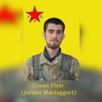 [Curdistão] Anarquista americano Jordan MacTaggart morto lutando contra o Estado Islâmico em fileiras do YPG