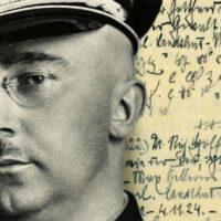 Diários encontrados na Rússia revelam fatos da vida particular do chefe das SS Heinrich Himmler