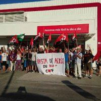[Espanha] Porto de Santa Maria – CNT se concentra ante o supermercado DIA por acosso a um trabalhador
