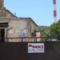 [Grécia] Lesbos: Desalojo do Centro Social No Border