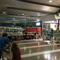 [Grécia] Relatório da ação no Aeroporto Internacional de Tessalônica