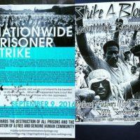 Greve de presos nos EUA em 9 de setembro contra as Fábricas Corporativas Prisionais e o Sistema Penitenciário. Abolição Já!