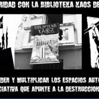 [Porto Alegre-RS] Sobre o desalojo da biblioteca Kaos