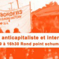 [Bélgica] Bloco anticapitalista e internacional na manifestação Stop-TTIP