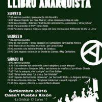 [Espanha] Gijón: III Encontro do Livro Anarquista de Astúrias