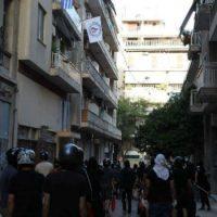 [Grécia] Atenas: mobilização antifascista cancela abertura dos escritórios de partido fascista