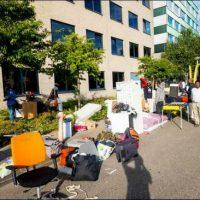 [Holanda] Amsterdam: Ocupado um edifício para refugiadas e outro para refugiados