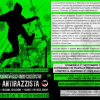 [Itália] Chiasso: Passeata antirracista