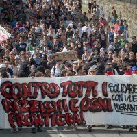 [Itália] Comunicado pós passeata antirracista em Chiasso: Os estrangeiros estão aqui