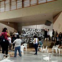 [Macapá-AP] Ação direta durante debate entre candidatos na Unifap