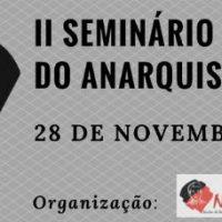 [Rio de Janeiro-RJ] II Seminário de Estudos do Anarquismo