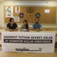 [Turquia] Prisioneiro anarquista Şevket Aslan em greve de fome há 37 dias