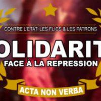 [Bélgica] Solidariedade econômica com os antifascistas e anarquistas de Bruxelas
