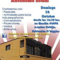 [Chile] Antofagasta: Jornada de inauguração do Yareta, Espaço Autônomo Social - 30 de outubro