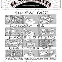 """[Chile] Novamente nas ruas: """"El Sol Ácrata"""", N°33, outubro 2016."""