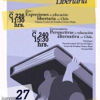 [Chile] Valparaíso: Seminário de Educação Libertária, 27 de outubro