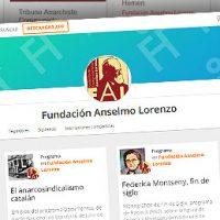 [Espanha] Segundo relatório de conteúdos digitais da Fundação Anselmo Lorenzo