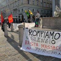 [Itália] Encontro solidário com a resistência curda
