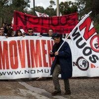 [Itália] Mil pessoas em Niscemi contra o Muos. Cabos violados