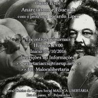 [Salvador-BA] Curso Livre: Anarquismo e Foucault