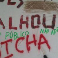 [Santa Catarina-SC] Sala da UFSC voltada a atividades étnicas é pichada com mensagens nazistas