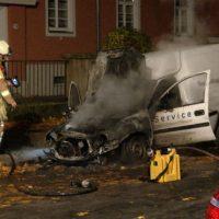 [Alemanha] Dresden: Ataque incendiário contra veículo de empresários da guerra da ThyssenKrupp