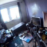 [Alemanha] Leipzig: Antifascistas destroem a casa do neonazista Istvan Repaczki