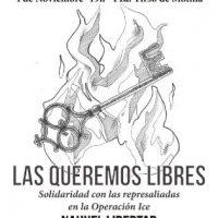 [Espanha] As queremos livre. Solidariedade com as represaliadas na Operação Ice