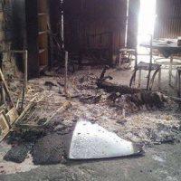 [Espanha] Golpe contra o movimento okupa em Logroño. CSO Absenta II é incendiado