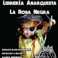 [Espanha] Inauguração da livraria anarquista Rosa Negra será dia 12 de novembro