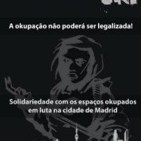 [Espanha] Mês de solidariedade e luta pela okupação, de 19 de Novembro a 19 de Dezembro