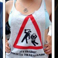 [Espanha] Muita polícia, pouca diversão... também em tua camiseta