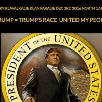 [EUA] Ku Klux Klan convoca marcha pela vitória de Trump na Carolina do Norte