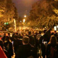 [Grécia] Exarchia, Atenas, 27 de outubro de 2016: Marcha contra o Estado, as máfias e o canibalismo social