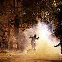"""[Grécia] Manifestação contra a visita de Obama a Atenas: """"Violentos confrontos"""" ou espetáculo com o desfecho esperado?"""