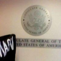 [Grécia] Na véspera de visita de Obama, anarquistas ocupam Consulado Geral dos EUA em Tessalônica