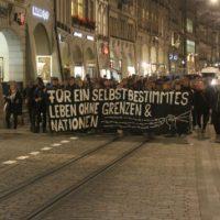 """[Suíça] Berna: Manifestação solidária com os migrantes evacuados da """"Selva"""" em Calais"""