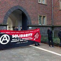 [Alemanha] Relato sobre o julgamento da companheira anarquista de Amsterdam acusada de roubar um banco em Aachen