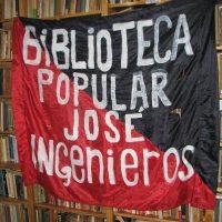[Argentina] A Biblioteca Popular José Ingenieros necessita tua solidariedade