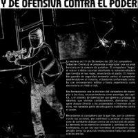 [Chile] Sebastian Oversluij presente em cada ação expropriadora e de ofensiva contra o poder